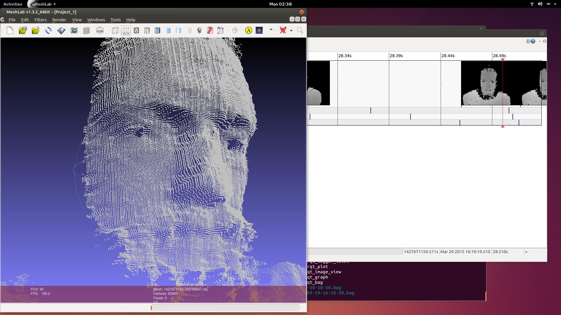 RealSense 3d camera on Linux Mac OS X  infrared, calibration